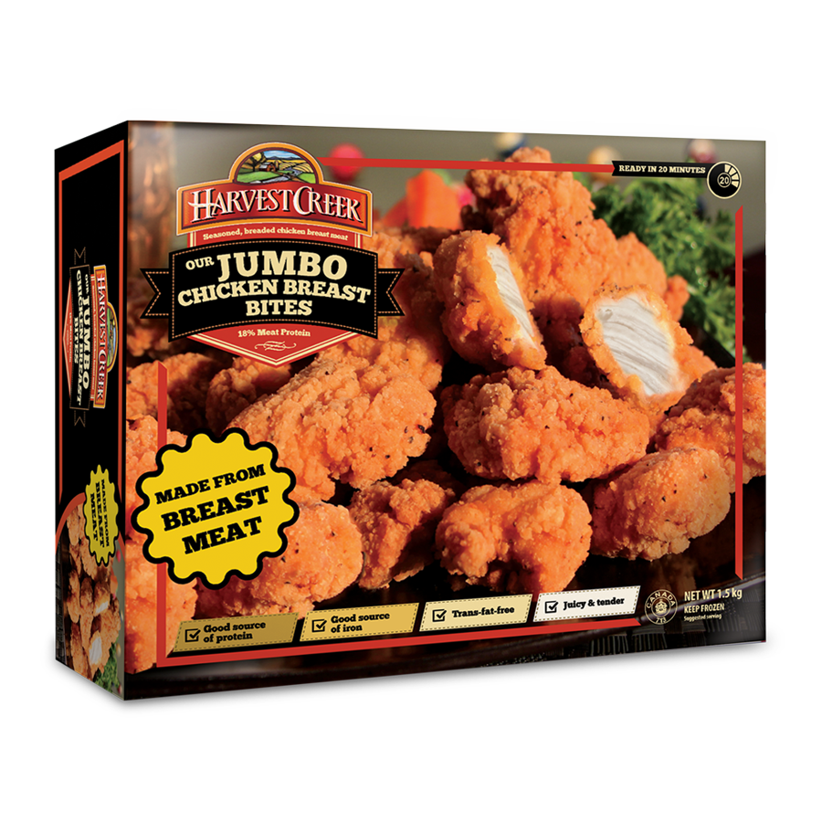 Jumbo Chicken Breast Bites